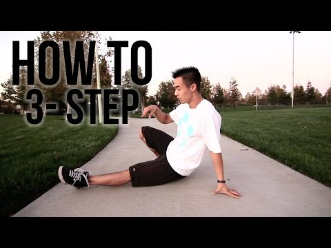 How to Breakdance | 3 Step | Footwork 101