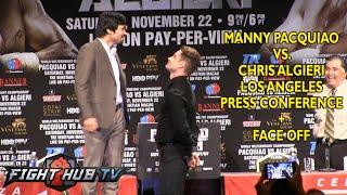 Video Manny Pacquiao vs. Chris Algieri- Full press conference + face off MP3, 3GP, MP4, WEBM, AVI, FLV Januari 2019