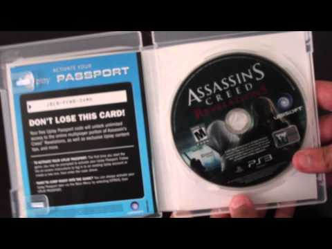 Assassin's Creed Revelations - Signature Edition Unboxing (HD)