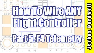 Please consider supporting original educational content like this by joining my Patreon: https://www.patreon.com/thedroneracingengineerIn this video series, I will teach you how to wire up ANY flight controller without reference to a diagram or manual. You'll know how to power the board and connect accessories like camera, vTX, and receiver. Quadcopter flight controllers seem complicated at first glance, but they all do pretty much the same thing. Once you understand this, wiring them up is easy.In this part, I'll give you solutions to a few of the quirks that prevent telemetry from working on F4 flight controllers.Link to this playlist: https://www.youtube.com/playlist?list=PLwoDb7WF6c8lCcjOh26ZVQsLQtjGPQcgyProject BlueFalcon's video about how to get at the un-inverted SmartPort signal: https://www.youtube.com/watch?v=gWg9R7OLe5c