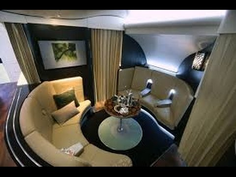 Etihad First Class (Apartments) - Sydney to Abu Dhabi (EY 455) - Airbus A380-800 (видео)