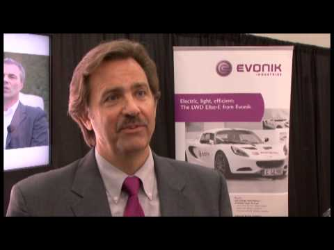 Evonik COMB polymer interview SAE 2013 World Congress