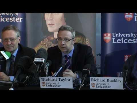 Suche nach König Richard III - Pressekonferenz 12. September 2012