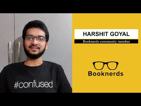 Testimonial Harshit Goyal Booknerds Community Member