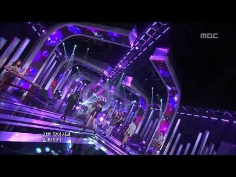 FIESTAR - VISTA, 피에스타 - 비스타, Music Core 20120922 (видео)