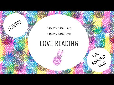 """Love messages - SCORPIO """"YOU HAVE SOMEONE SPECIAL"""" DEC 3-9 WEEKLY LOVE READING"""