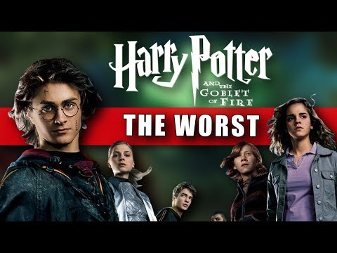 Why the Goblet of Fire is My Least Favorite Harry Potter Movie (Out of the 8 Films): Video Essay