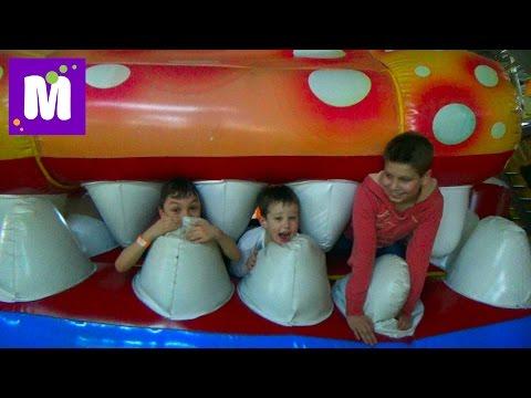 ВЛОГ детский развлекательный центр и встреча с подписчиками Sky Park kid's indoor intertaimnent (видео)