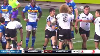Stormers v Sunwolves Rd.16 Super Rugby Video Highlights 2017