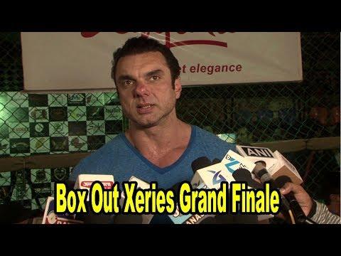 Sohail Khan At Box Out Xeries Grand Finale Won By Lashkaria Lions