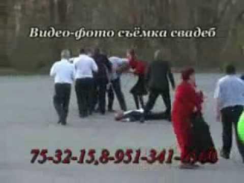 Pelea de mujeres en una boda rusa