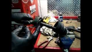9. Yamaha Rhino Rear Outer CV Boot Replacement