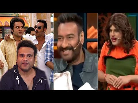 Comedian Krishna Abhishek soon working with Ajay Devgan