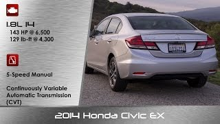 2014 / 2015 Honda Civic EX Review And Road Test