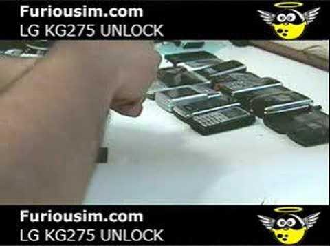 comment debloquer un portable lg kg275