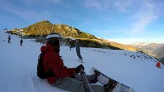 Hochgurgl Austria  city pictures gallery : Snowboarding in Hochgurgl Obergurgl Tyrol Austria