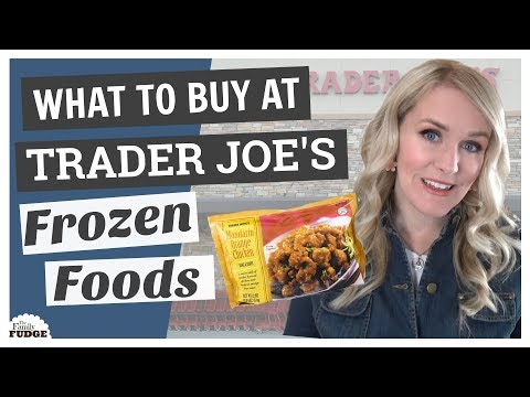 WHAT TO BUY at TRADER JOE'S    Top 5 FROZEN Foods!