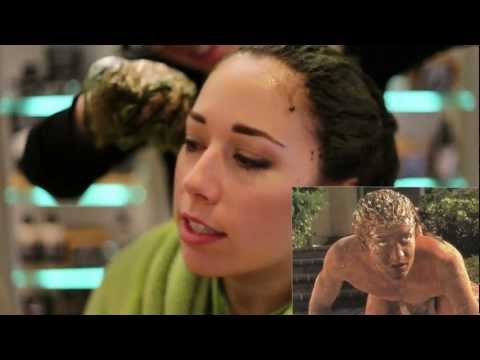 Henna for Brown Hair – Lush Henna Caca Noir, Before and After How-to
