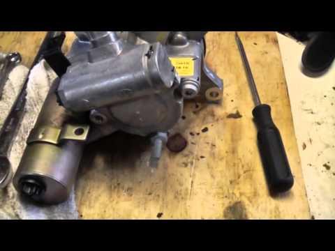 2003 Mercedes Benz SL 55 Tandam pump replacement