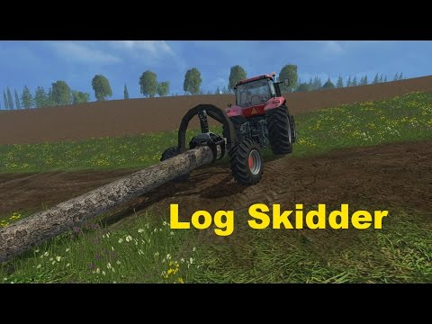 Log Skidder Forestry v1.0