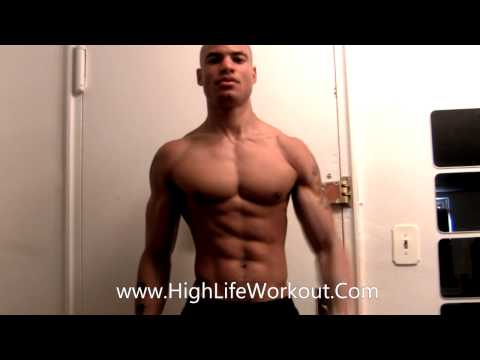 How To Workout At Home Without Equipment or Weights (Build Muscle Burn Fat) Big Brandon Carter (видео)