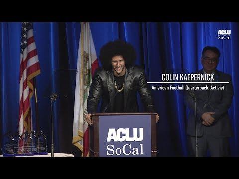 ACLU SoCal honors Colin Kaepernick