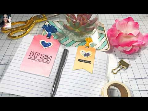 DIY Magnetic Paper Clips l For Planners l To Decorate Projects l Teacher's Gifts and more!