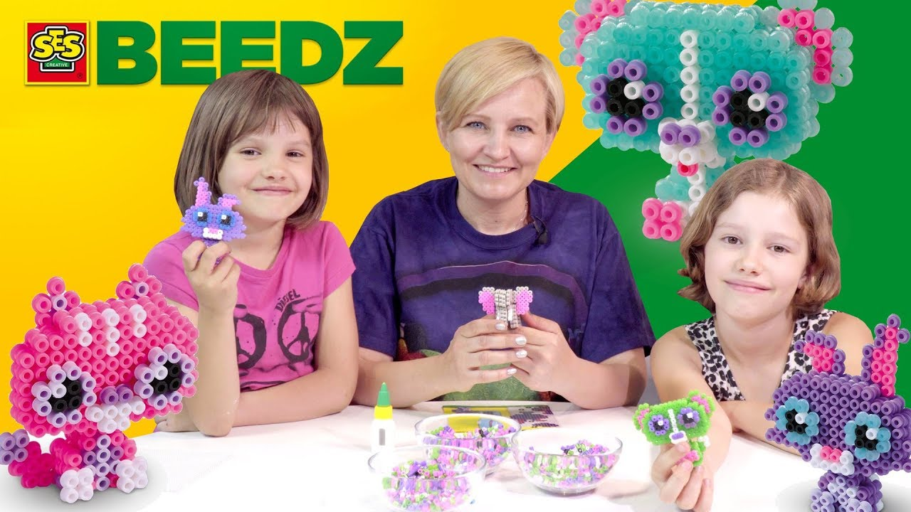 BEEDZ - koralikowe prasowanki 3D, SES Polska