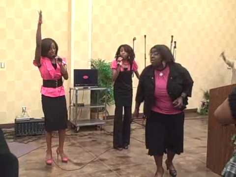 RAW & UNCUT PRAISE BREAK   THE NIQUE SISTERS  AINT NOBODY MA