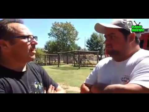 Con Gerardo salazar responsable futbol infantil barrio colon