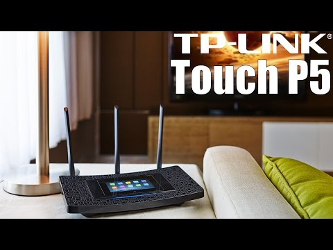 Análisis TP Link Touch P5: router con pantalla tactil!