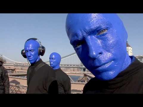 Blue Man Group - Brooklyn Bridge Bateria (видео)