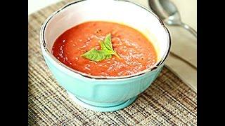 Videoricetta: zuppa di pomodori al forno