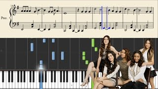 Fifth Harmony - Write On Me - Piano Tutorial + Sheets