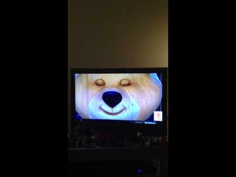 Misha Russian bear mascot crying 2014 OLYMPICS closing ceremony