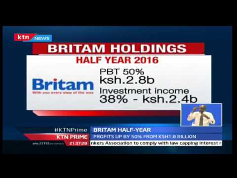Britam half year profits