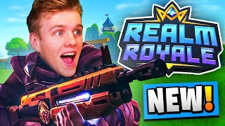 My First Game of REALM ROYALE! (New Battle Royale)