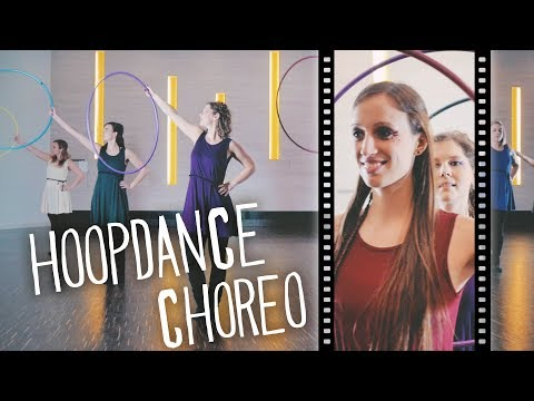 Hoopdance Choreography To ODESZA