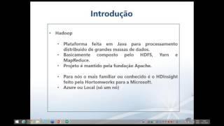 Webcast para o Chapter Global Portuguese Virtual PASS realizado no ultimo dia 12/11/2015 com Rodrigo Dornel como palestrante.