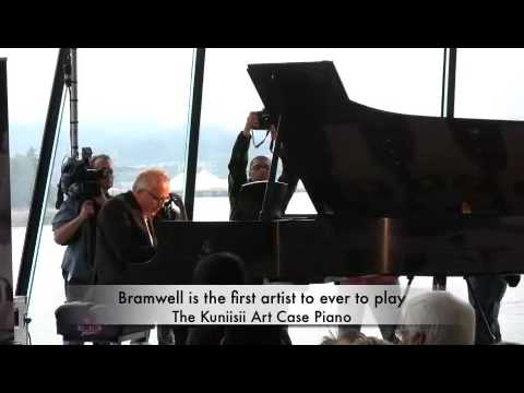 Artase - July 23, 2009: The Steinway & Sons Art Case grand piano Kuniisii - Music & Mythology was unveiled this morning at the new expansion to the Vancouver Conventi...