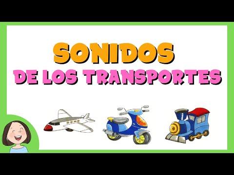 LOS SONIDOS DE LOS TRANSPORTES