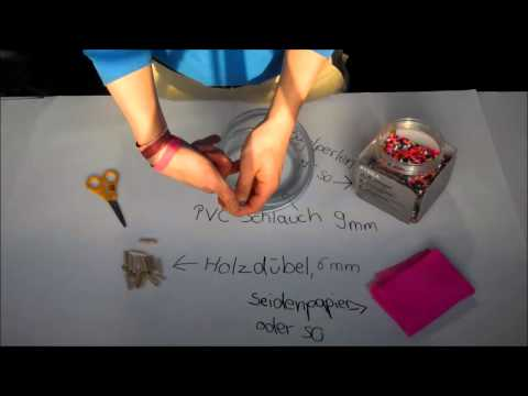 2013 Bastelvideo: Schlaucharmband