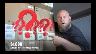 I bought a $1,600 Amazon Customer Returns Pallet / Mystery Boxes