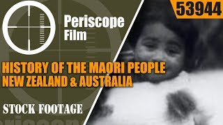 Dating to 1954 and directed by O. Negus, LAUGHING PEOPLE tells the story of the Maori people in Australia and New Zealand. The film includes impressive ...