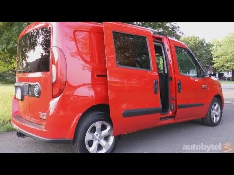 2016 RAM Promaster City Wagon Video Review