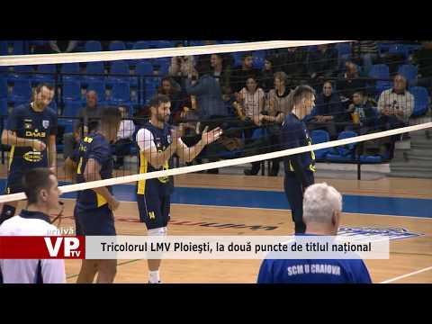 Tricolorul LMV Ploieşti, la două puncte de titlul național