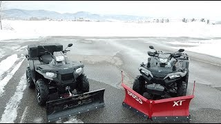 8. Polaris 570SP or 850SP & Boss VS. Glacier Plow SPEED TEST