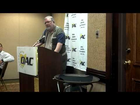Joe Tait Acceptance Speech at OAC Media Day