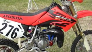 8. for sale: cr85 mod bike (cold start)