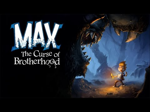 Max The Curse of Brotherhood - Game Movie